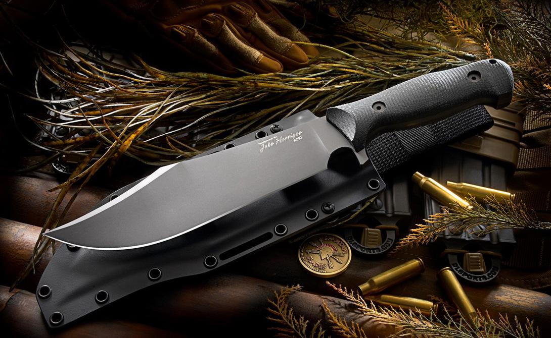 Типичное оружие современного реднека, придуманное ветераном техасской революции, полковником Джеймсом Боуи