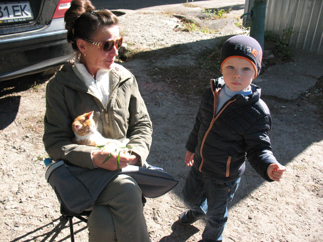 Рыжий котенок. Птичий рынок в Харькове или харьковская «Птичка»