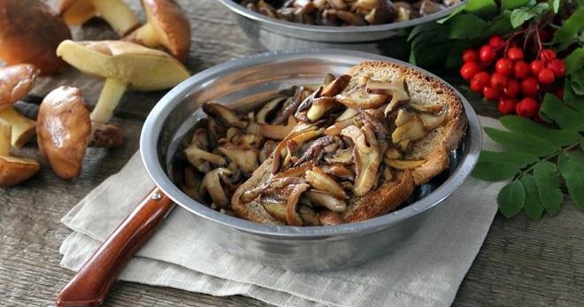 Жареные маслята - отменное сезонное блюдо для любого стола
