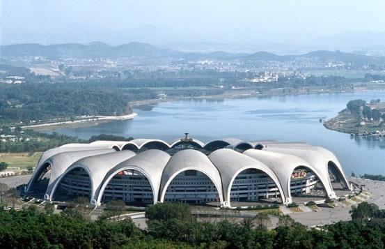 Стадион Первого мая в Пхеньяне. Самый большой стадион мира