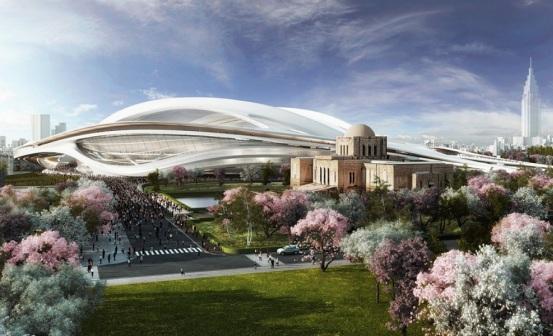 Новый стадион в Токио