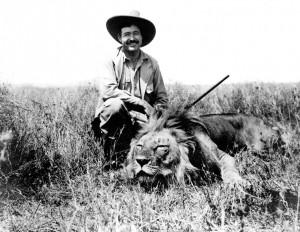 Ernest_Hemingway_on_safari,_1934