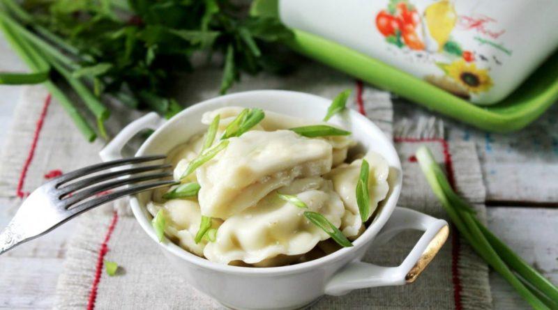 вареников с картошкой и грибами