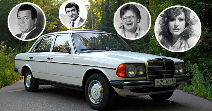 Такая машина была у многих звезд советской эстрады
