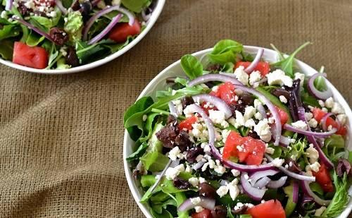 Салат готов. Классический рецепт как приготовить греческий салат