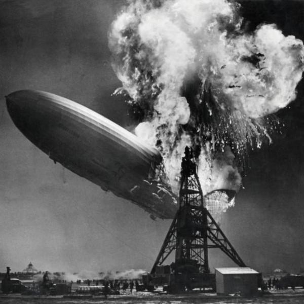Крушение «Гинденбурга»: воздушный замок с живыми факелами