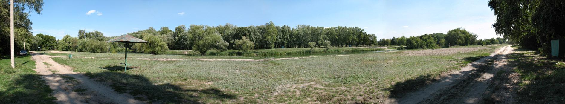 панорама Журавлевский гидропарк_