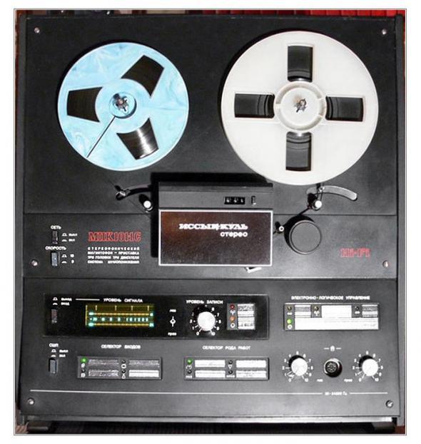 Сетевые катушечные магнитофоны