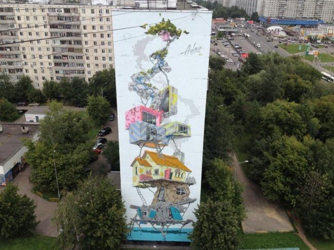 Москва, Россия. Андрей Adno (5 дней — 13 этажей)