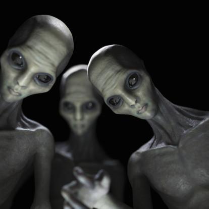 Порно с инопланетянкой в мечтах уфолога