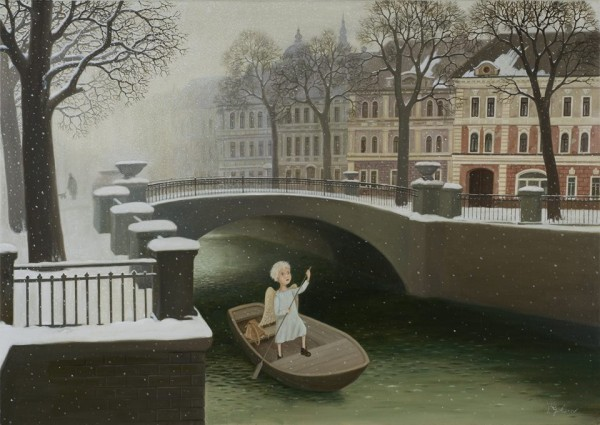 Валентин Губарев. Ангел в городе