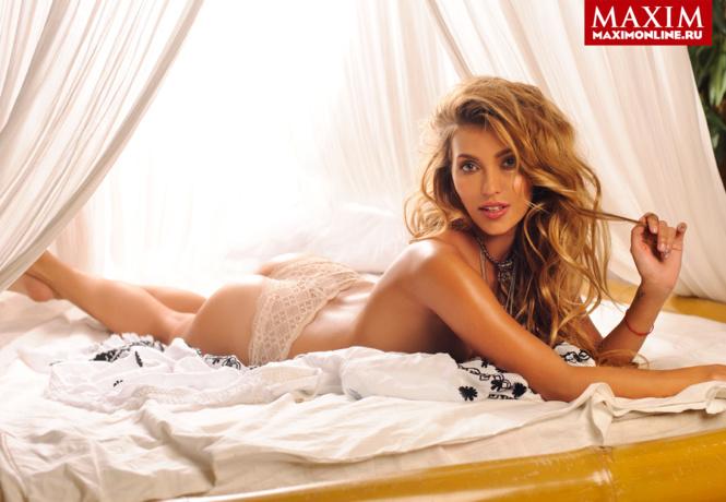 Голая Регина Тодоренко на фото из Maxim и других журналов