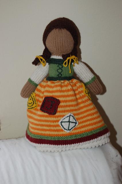 Fo Topsy Turvy Doll Knitting