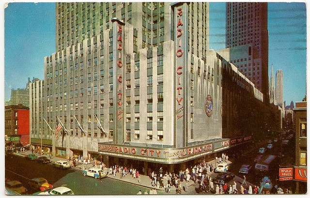 Radio-City-Music-Hall-50s