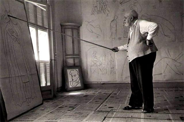 Matisse-sketching