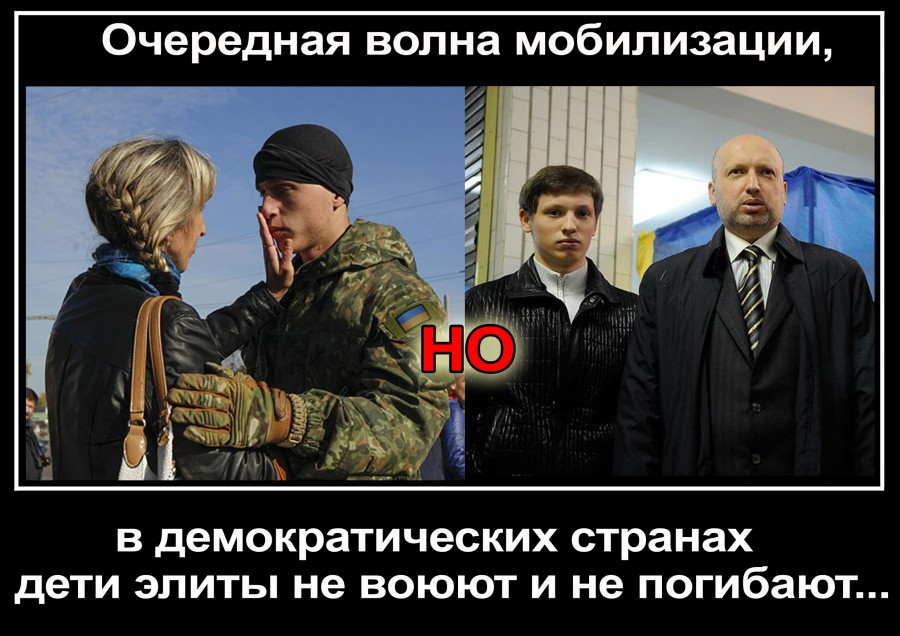 Мобилизация на Украине Турчинов