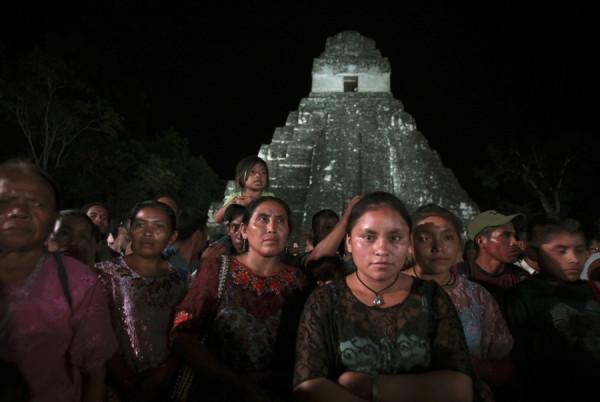потомки древних майя