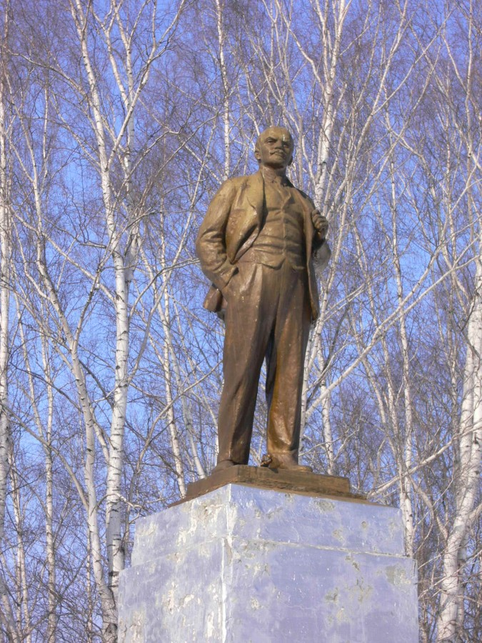 Ленин в городе Нытва