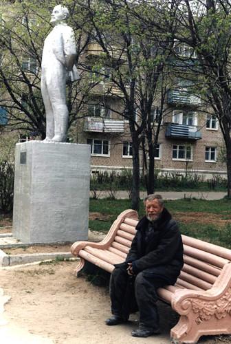 Бывший рабочий Пермского фанерного комбината, нынешний бомж.
