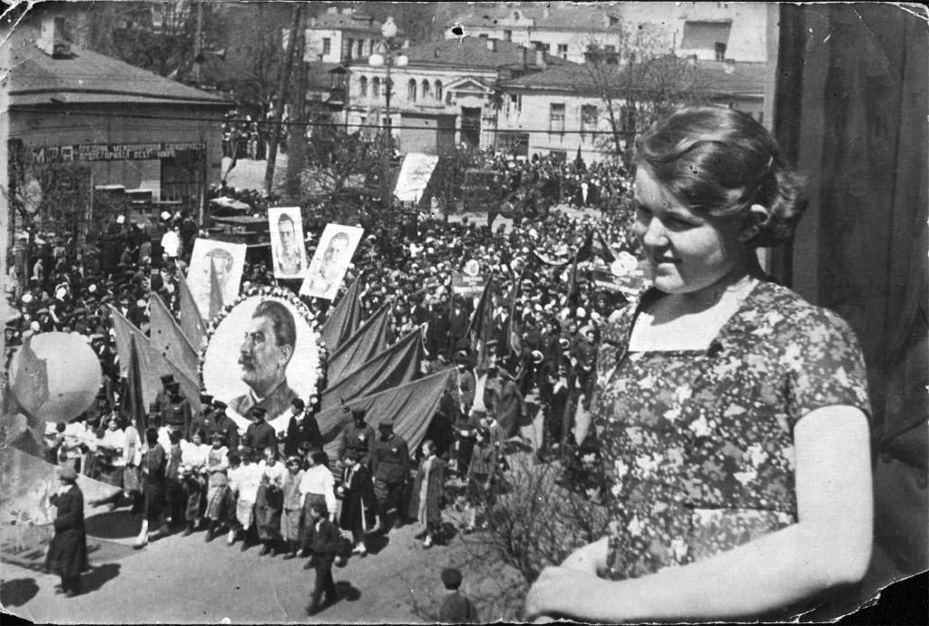 первомайская демонстрация СССР