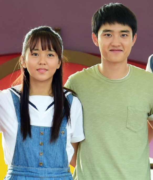 Kim SoHyun and D O 's film