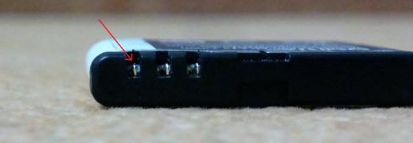 Дефектная батарея Nokia BP-6MT