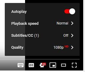 YouTubeSpeedSetting