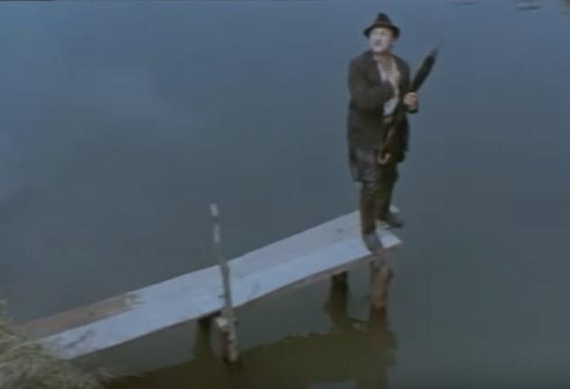 Трембита - прыжок в воду
