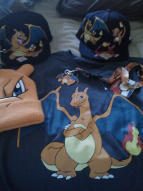 Charizard merch
