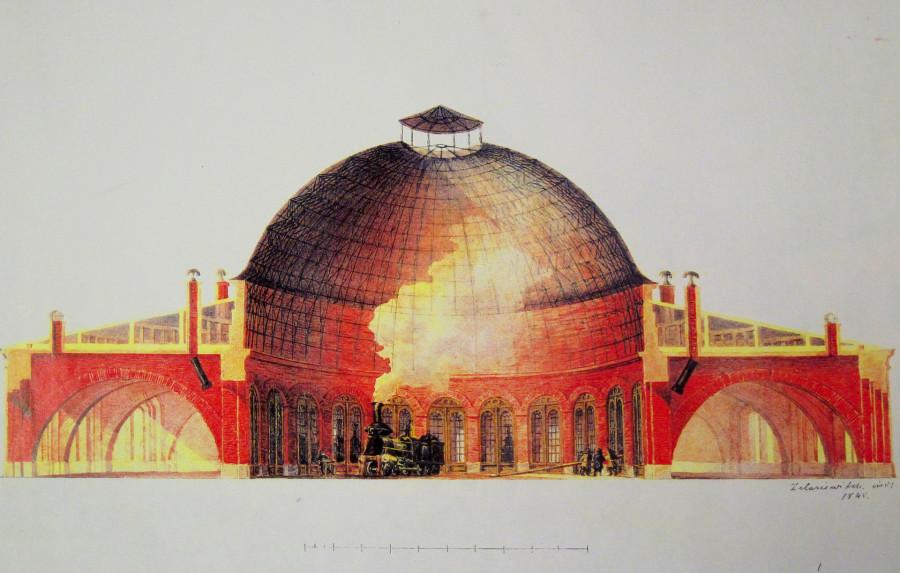 Разрез_Кругового_депо._1840-е