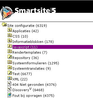 Average Smartsite Configuration Tree