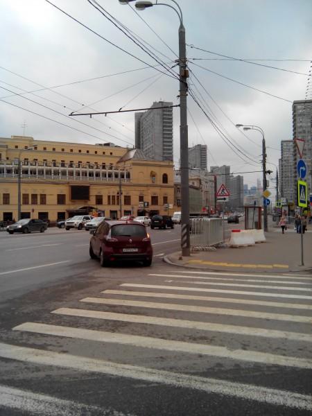 Новый Арбат. Ресторан Прага