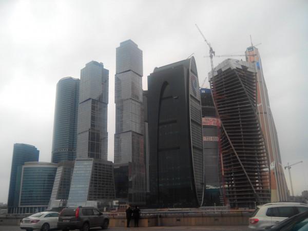 Сити со смотровой площадки