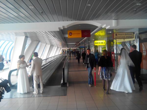 Свадьба на мосту Багратион