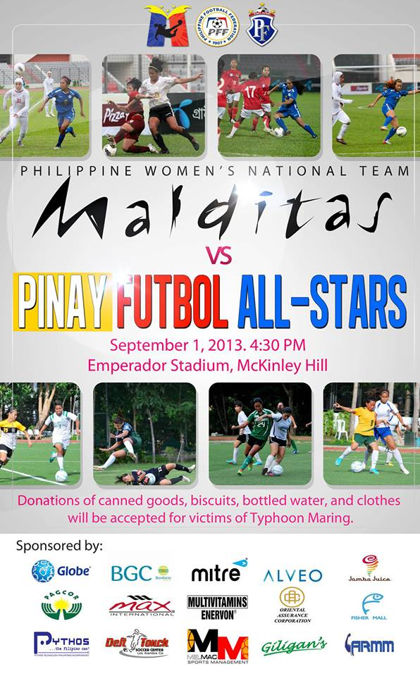 Philippine WNT Charity Match vs Local League Stars