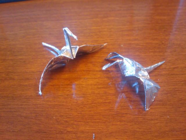 origami from gum wrapper tutorial origami handmade