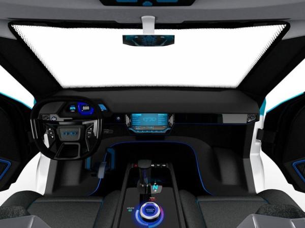 У Тесла появились конкуренты: в Украине показали концепт электрокара ЗАЗ