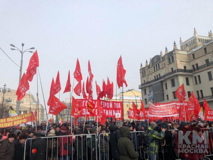 Олигарх Грудинин пытался говорить о честности на своем митинге в Москве