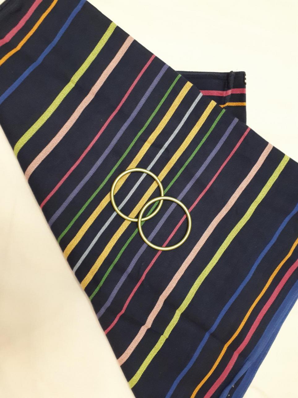 Диди Лиза. Носили и как ССК со вставленными кольцами и как коротыш, но не часто. Состояние аккуратно разношенного шарфика.
