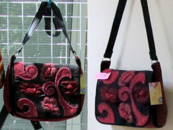 сумка кораллы