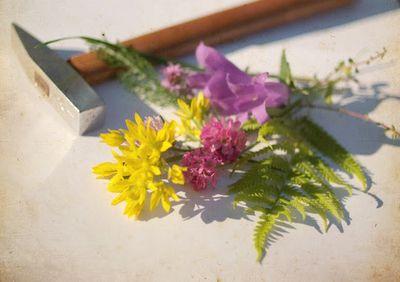 hammered flower