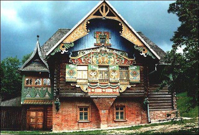 картинки русский терем
