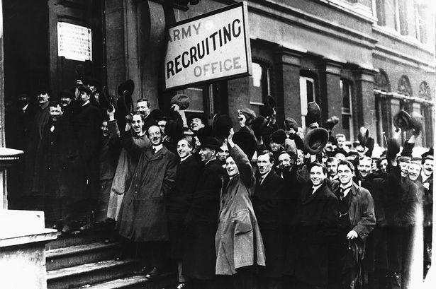 WW1-volunteers