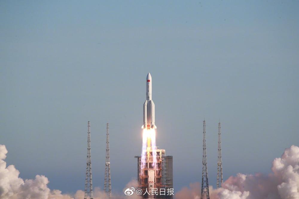 Китай, космодром Вэнчан - успешный пуск CZ-5B CZ5B-4.jpg