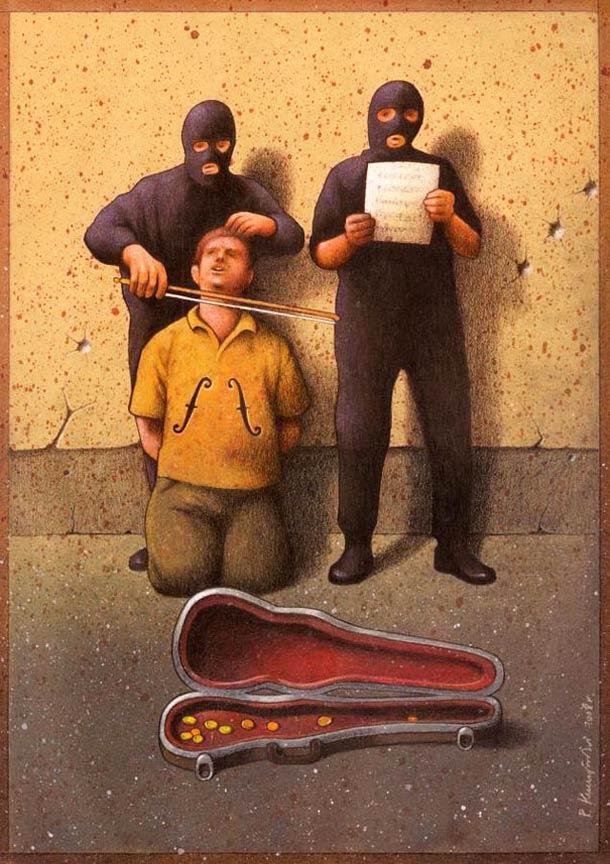Satirical-Illustrations-by-Pawel-Kuczynski-1