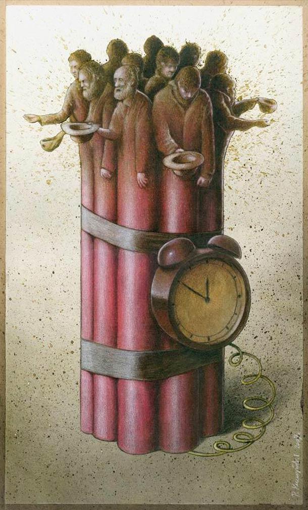 Satirical-Illustrations-by-Pawel-Kuczynski-9
