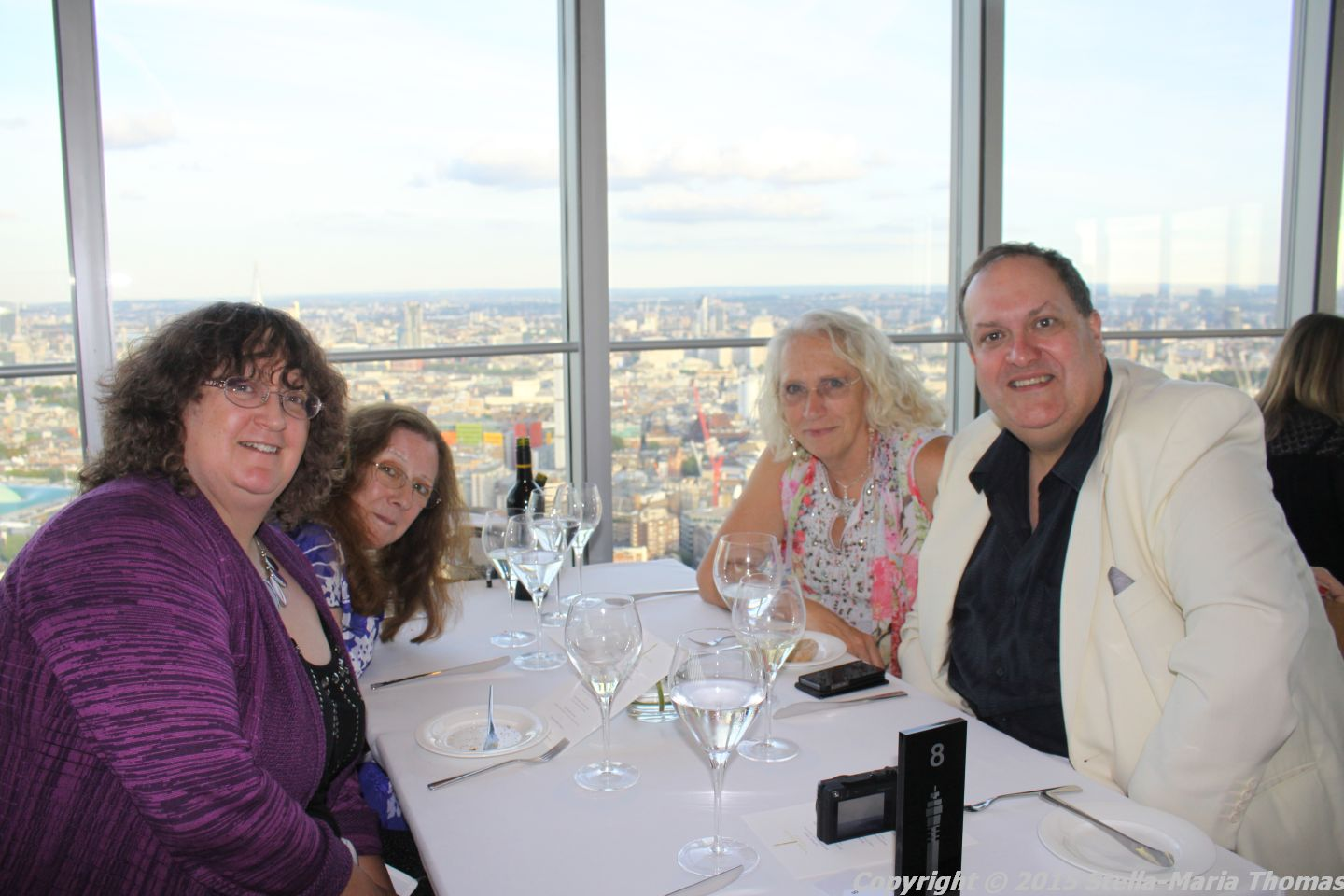 BT TOWER 50TH BIRTHDAY, TABLE 016