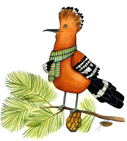 Такого чубчика немає в жодної пташки наших широт | Газета «День ... | 600x543