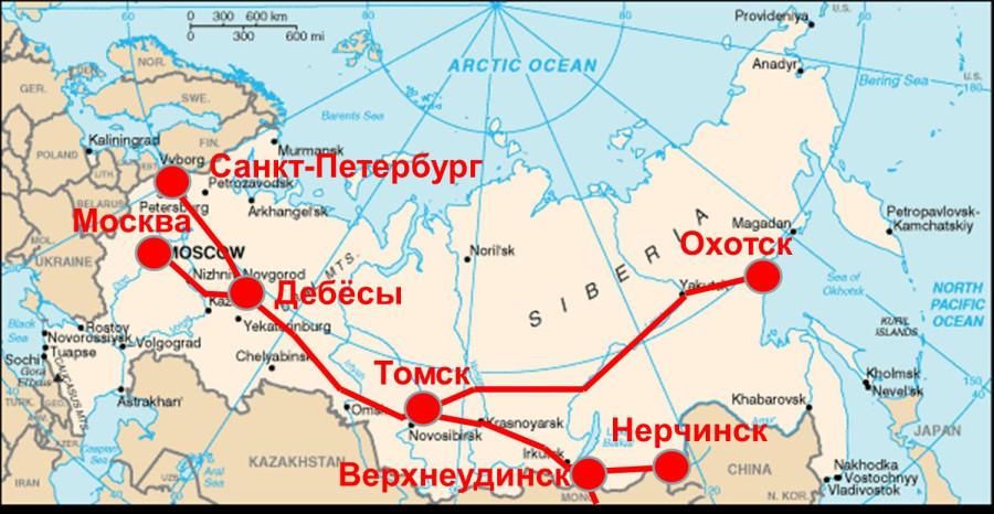 Карта полная