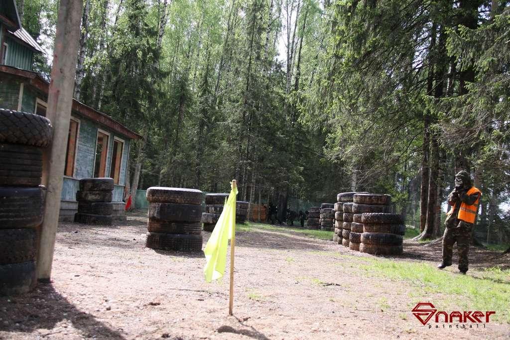 Пейнтбол в Петербурге